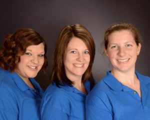 Meet the Director Team Pictured left to right is Kellie, Tiffany, Heather